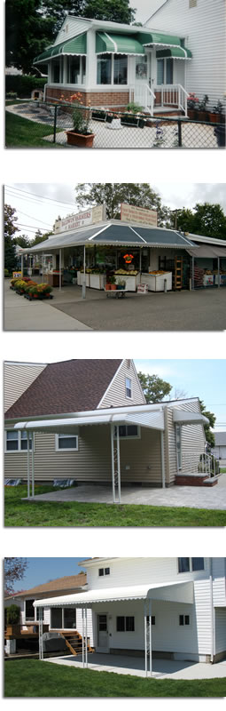 Commercial and Residential Aluminum Awnings